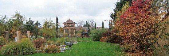 Bistrot L Ancienne Auberge 1900 : Garden view