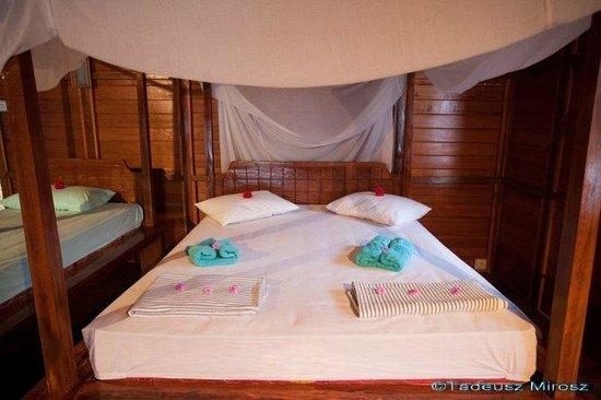 Raja Laut Dive Resort : bedroom