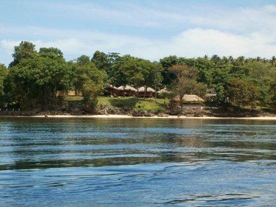 Raja Laut Dive Resort: Raja Laut from the seafront