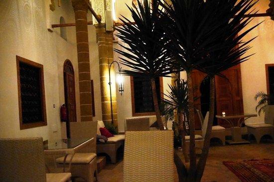 Riad Kalaa : The lovely courtyard common area