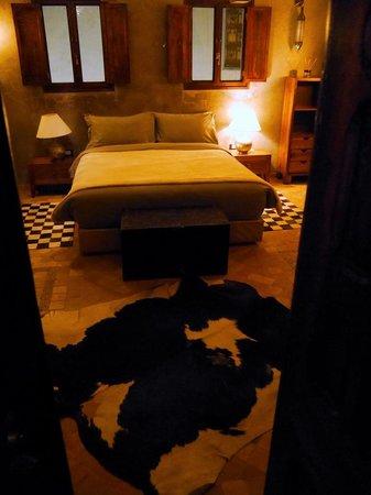 Riad Kalaa : View looking into La Suite Etoilée