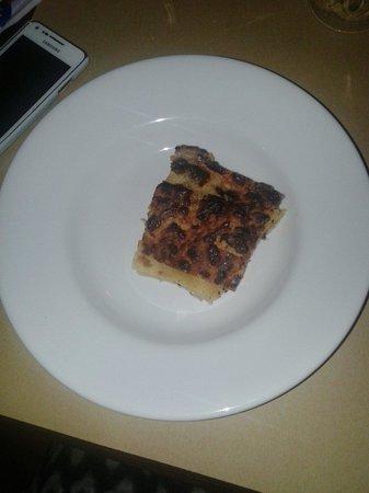 Antico Figher: Lasagne di carciofi e salciccia