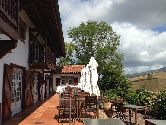 Auberge Ostape: La terrasse