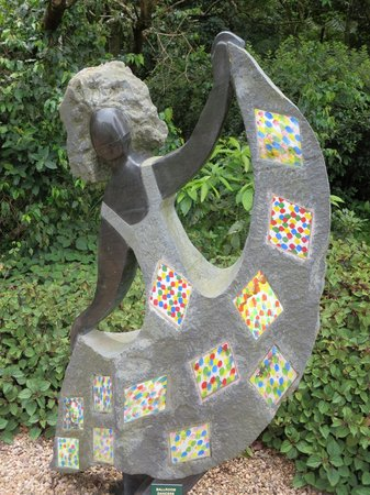 Makaranga: a work of sculpture in their gardens