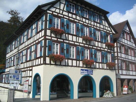Hotel zum weyßen Rößle: Fachwerkhaus in Schiltach