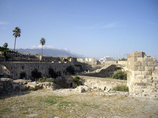 Kos Town Castle : view