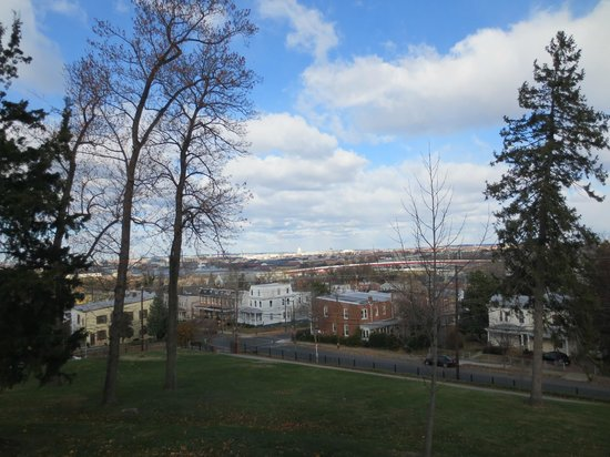 Frederick Douglass National Historic Site: View over DC