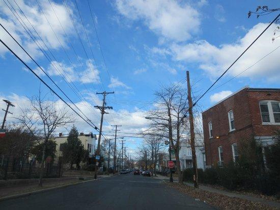 Frederick Douglass National Historic Site: Street view