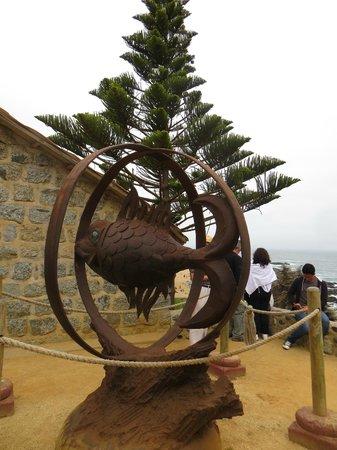 Casa de Isla Negra (Haus von Pablo Neruda): Escultura