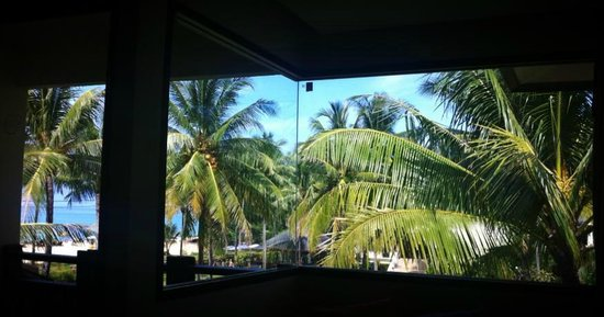 Khaolak Orchid Beach Resort: Room view was amazing, loads of glass in the corner room.
