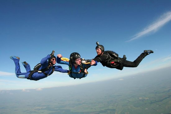 Learn to skydive at Skydive Langar