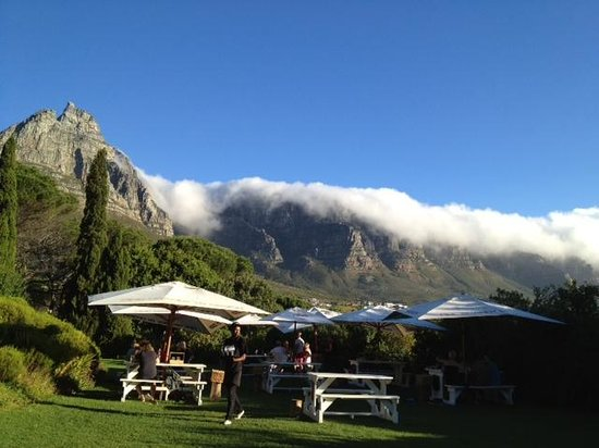The Roundhouse Restaurant: Twelve Apostles in the background