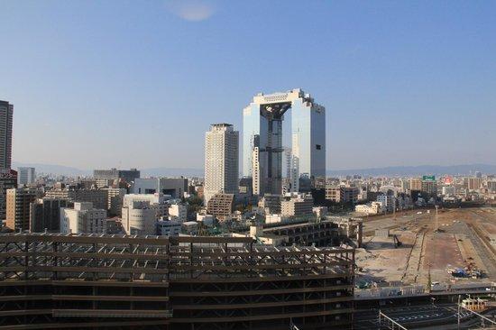 Hearton Hotel Nishi Umeda: View from room facing North.