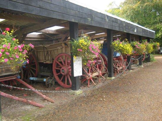 Michelham Priory: cart storage