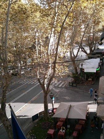 Hotel Alexandra: Vista da Janela do apartamento 2