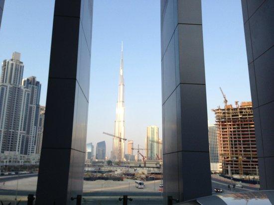 The Oberoi, Dubai: View from reception area