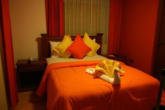 Casona Terrace Hotel: La chambre