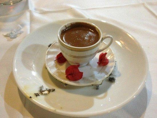 Kefal Restaurant: Süpriz kahve