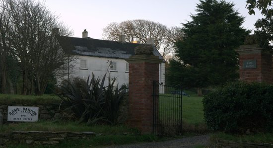Rame Barton: View of the house from Rame Lane
