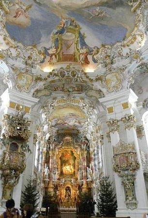 Wies Church : ヴィース教会内部2