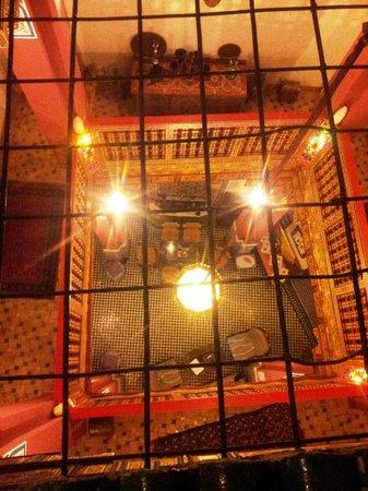 Riad La Bague de Kenza : the living area