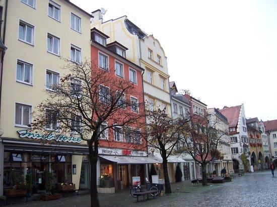 Insel-Hotel Lindau: İnsel Hotel ve Maximillianstrasse-Lindau