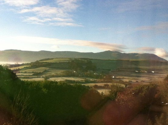 Ballyroe Heights Hotel: The view in the morning.