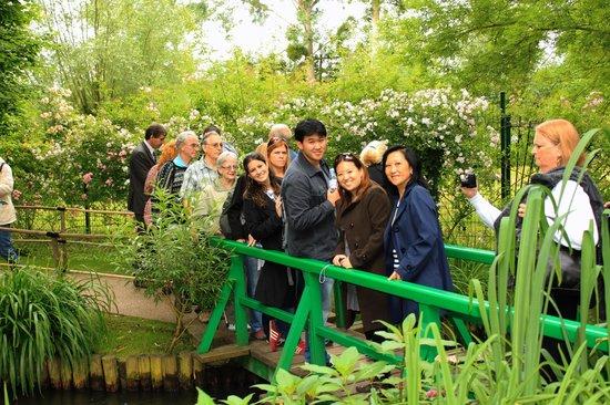 Maison et jardins de Claude Monet : PONTE JAPONESA