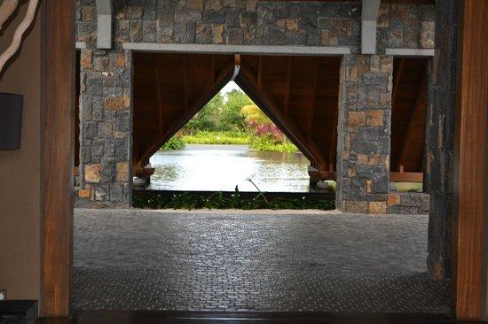 Trou aux Biches Beachcomber Golf Resort & Spa: Entrada Recepcion y Hall