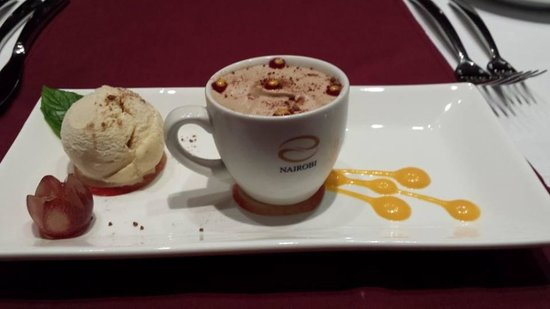 Gaylord Spices: this is our home madechocolate mousse
