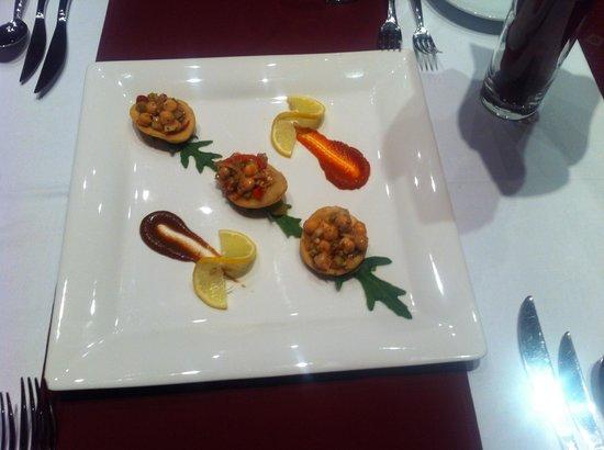 Gaylord Spices: papadi chat