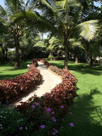 Santana Beach Resort: Garden Area