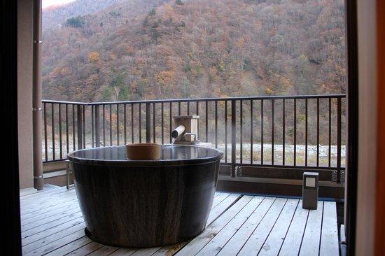 Yukimurasaki: Outdoor pool