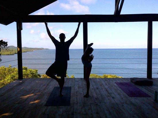 Paya Bay Resort: yoga with Brooke