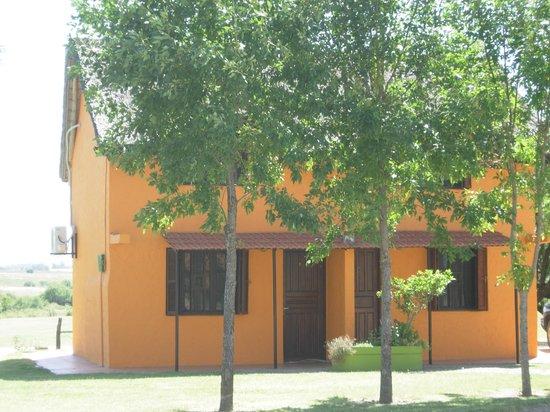 Punta Pueblo: cabañas al lago de la piscina