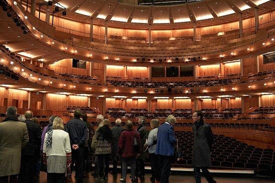 Glyndebourne Atrium taken from the stage