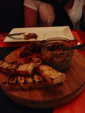 neMesis Urban Bistro: Chacuterie with duck liver Mousse with jam!  Incredible!