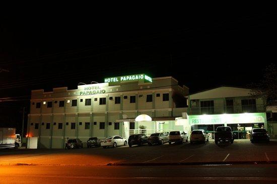 Guaira: Fachada do Hotel