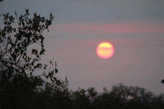 Ezulwini Game Lodges: African sunset