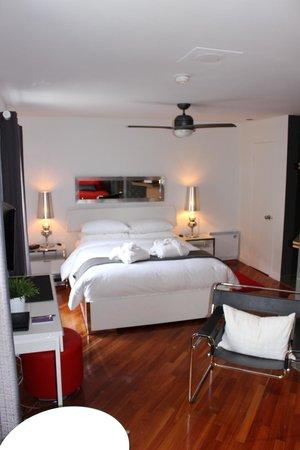 Aubergell Bed & Breakfast: Loft