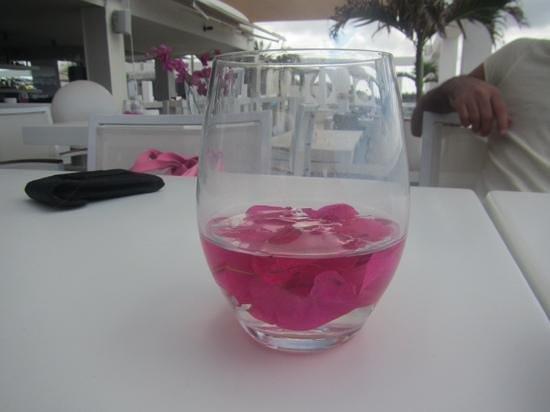 Saint Tropez Oceanclub: centro de mesa