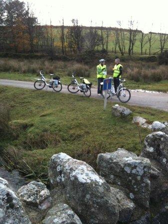 Dartmoor Electric Bicycles: sandwich mid way