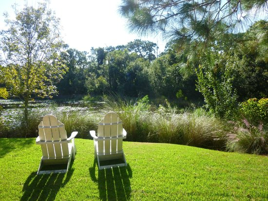One of the many places to sit and enjoy the view - Picture of ...