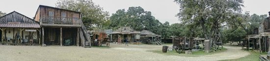 Enchanted Springs Ranch : pano of the ranch