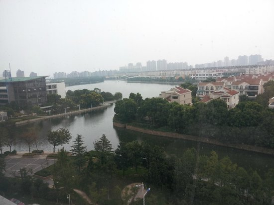 Grand Metropark Hotel Suzhou: View from room