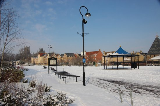 Jubilee Gardens in winter
