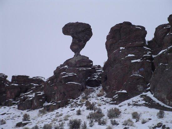 Balanced Rock Park: Balanced rock