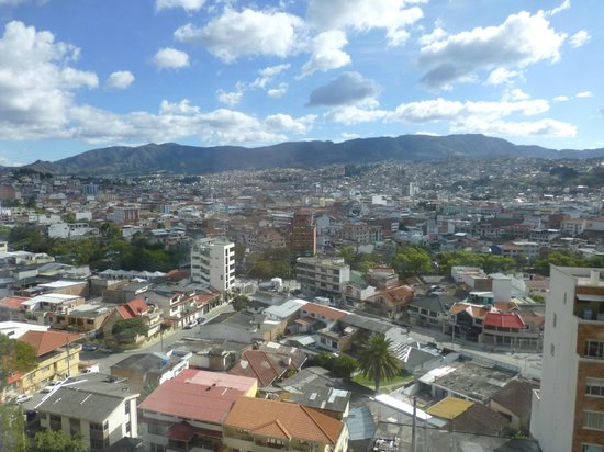Howard Johnson Hotel Loja: Vista panoramica