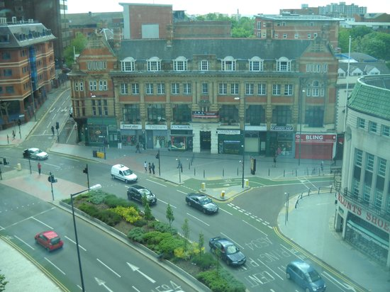Premier Inn Leicester City Centre Hotel View From The Window