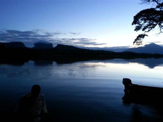 Campamento Canaima: Amanhecer